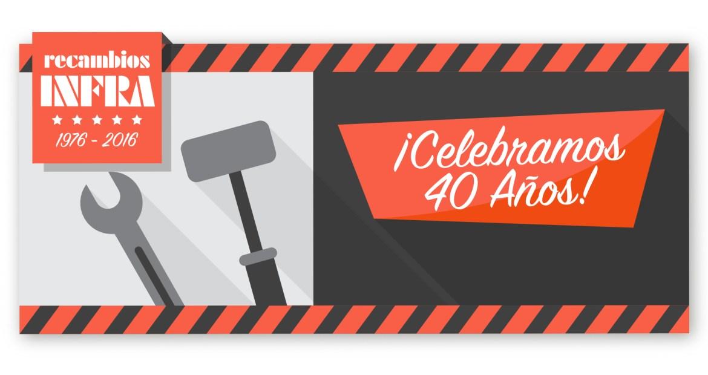 Recambios Infra SL, 40 años ofreciendo lo mejor a sus clientes