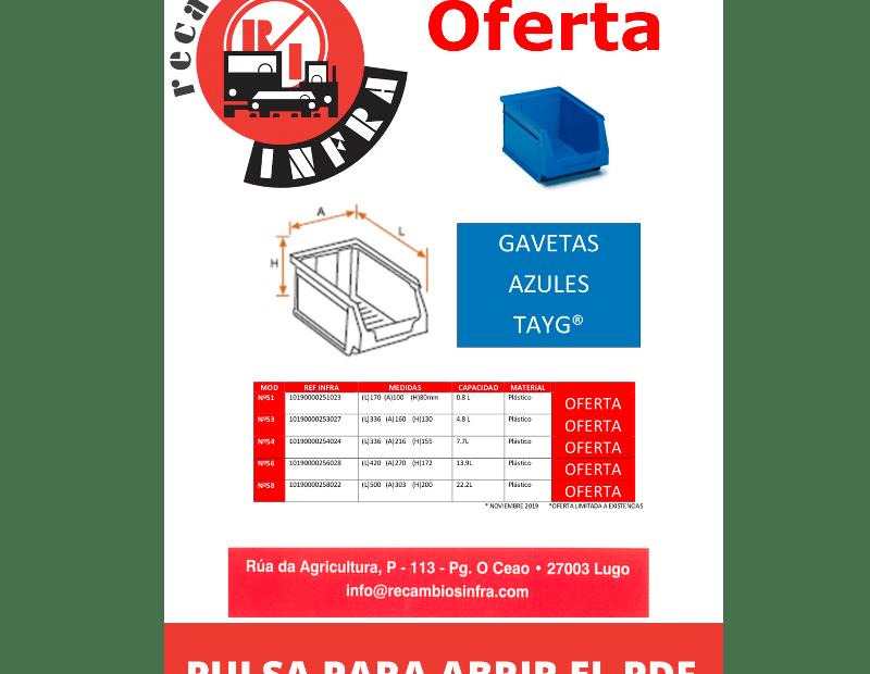 recambios-infra-TAYG-GAVETAS-2019