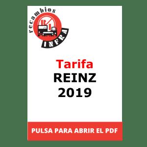 recambios-infra-Tarifa REINZ 2019