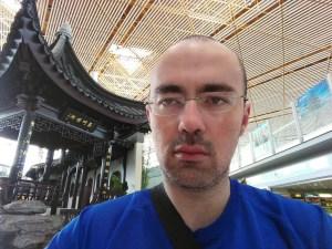 esperando en el aeropuerto de pekin