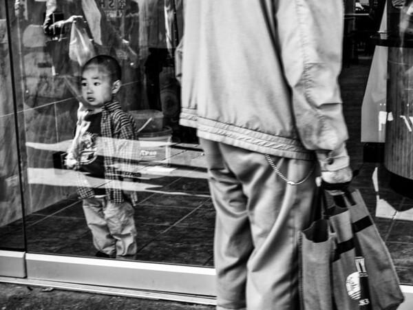 Child in a Doorway