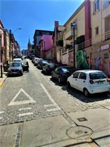Street of Valparaíso, Chile