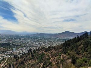View From the Gondola From Our Santiago, Chile Travel