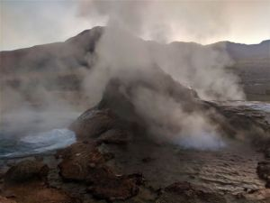 Geyser Tatio in the Atacama Desert