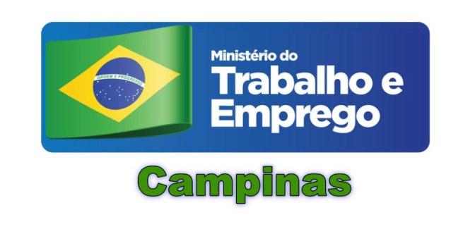 ministério do trabalho campinas
