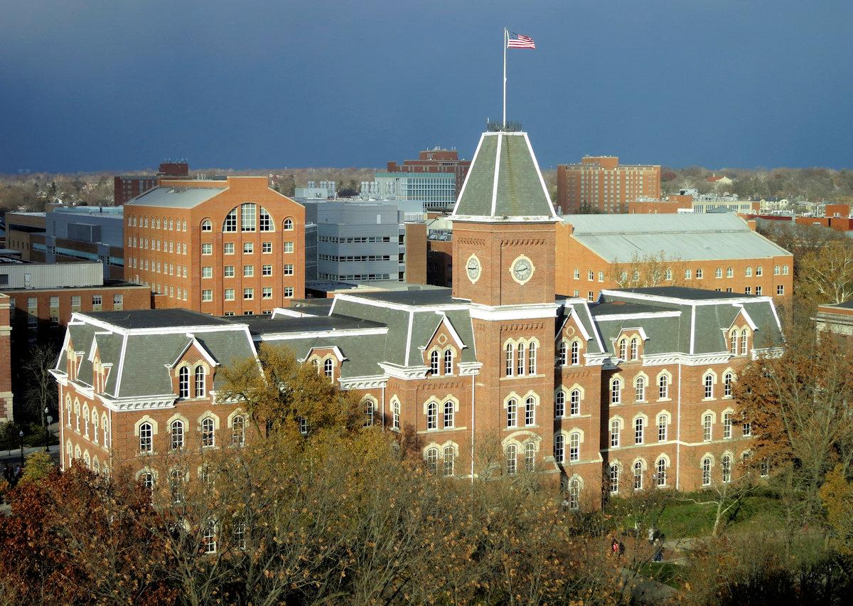University Hall, Yhr Ohio State University