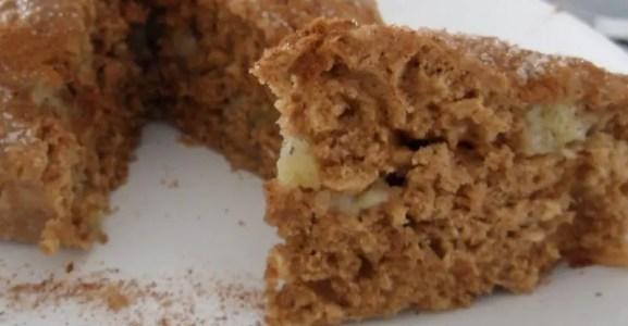 Receita de bolo de maçã fácil