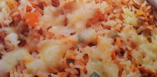 Receita de Arroz de Atum com Legumes