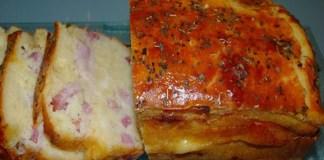 Receita de Bola Rápida de queijo com fiambre