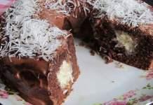 Receita de Bolo Surpresa de Chocolate