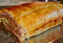 Receita de Bolo de Carne com massa folhada