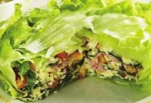 Receita de Bolo de Salada em Camadas