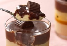 Receita de Creme de Maracujá e Chocolate Alpino