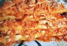 Receita de Lasanha de Frango com Molho e 3 queijos