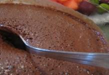 Receita de Mousse de Chocolate Aerado