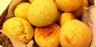Receita de Pão de queijo com cenoura