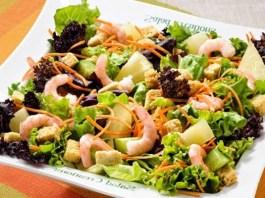 Receita de Salada Detox Oriental