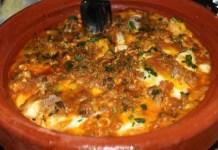 Receita de Tajine com Almondegas de Carneiro - Tajine Kefta
