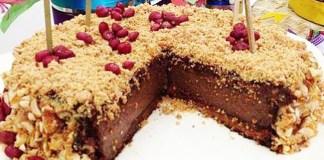 Receita de Torta de Amendoim e Paçoca