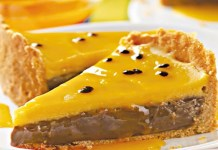 Receita de Torta de Brigadeiro com Maracujá