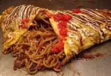 Receita de Omu-Soba Omelete de Yakisoba