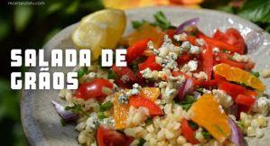 Receitas da TV Saladas de Grão