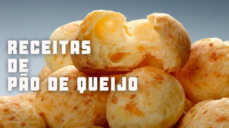 receitas da TV de pão de queijo