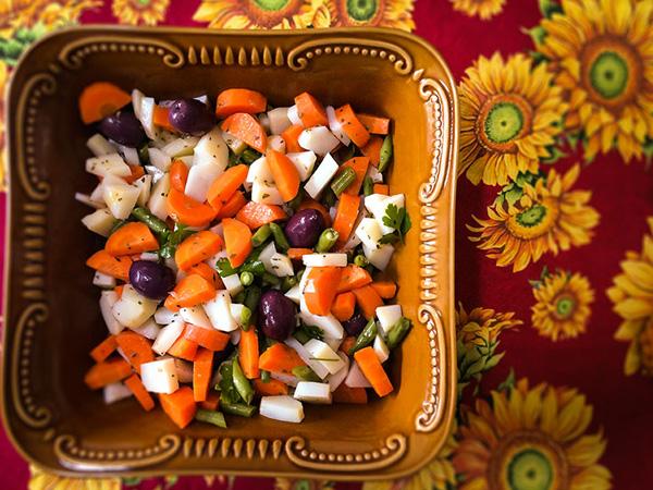 Salada de Legumes Cozidos - 1
