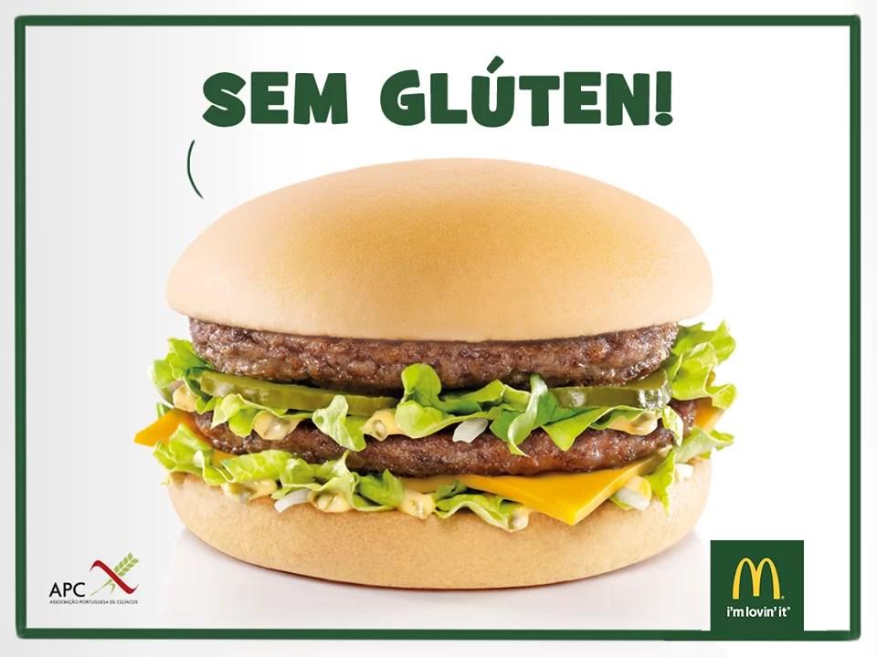 McDonald's Portugal Sem Glúten