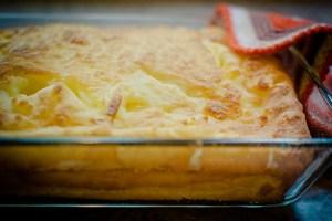 Receita de polenta assada
