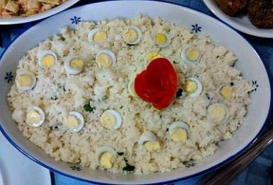 Receita de arroz cremoso