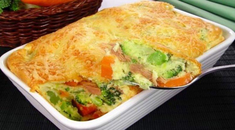 Suflê de legumes