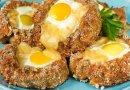 Cestinha de Carne com Ovo