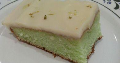 bolo de limão gelado