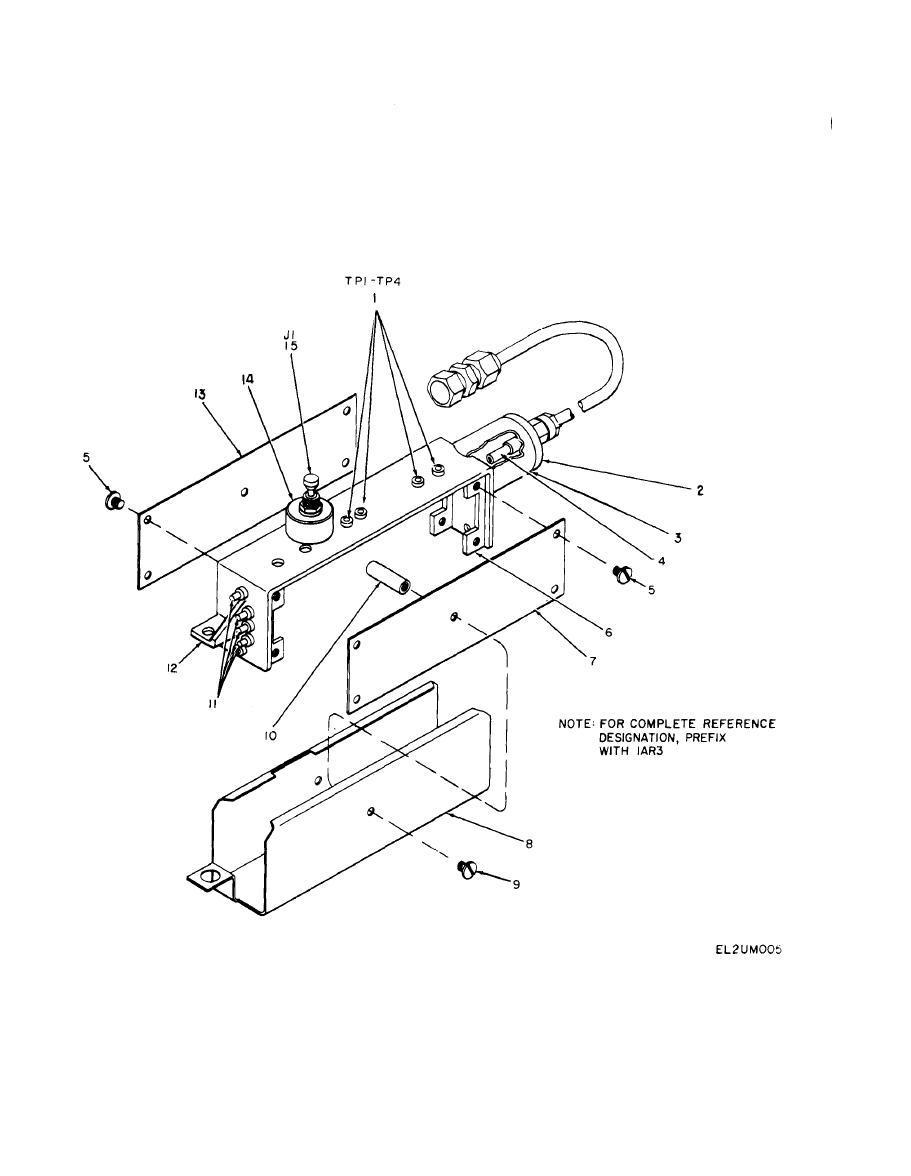 Figure 17. RF Assembly, Detector Video Amplifier (1AR3).