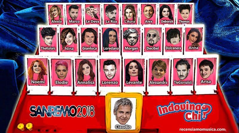 Sanremo 2018: i Big in tempo reale (cast in continuo aggiornamento)