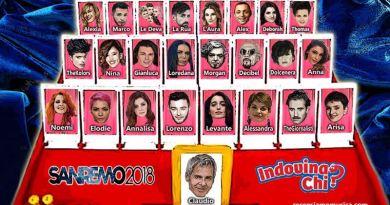 Sanremo 2018 - Indovina Chi