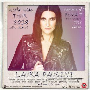 Laura Pausini World Tour 2018