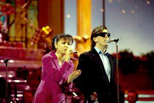 Sanremo 1992 Aleandro Baldi e Francesca Alotta