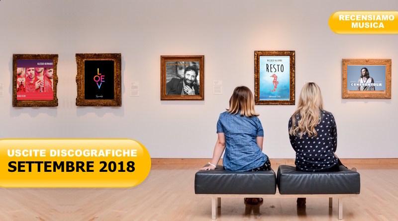 Nuovi album: tutte le uscite discografiche di Settembre 2018