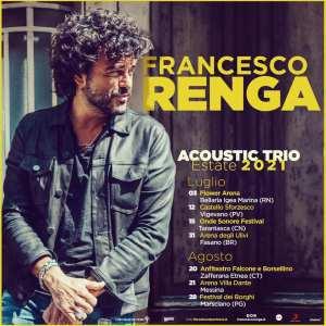 Francesco Renga . Acoustic Trio Tour 2021