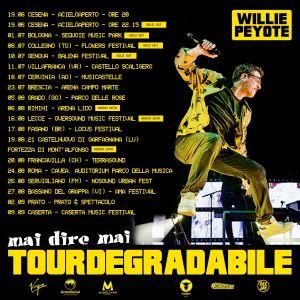 Willie Peyote - Tourdegradabile concerti 2021