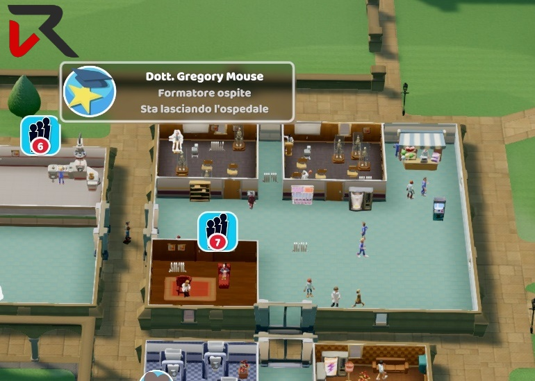 two point hospital gregory mouse