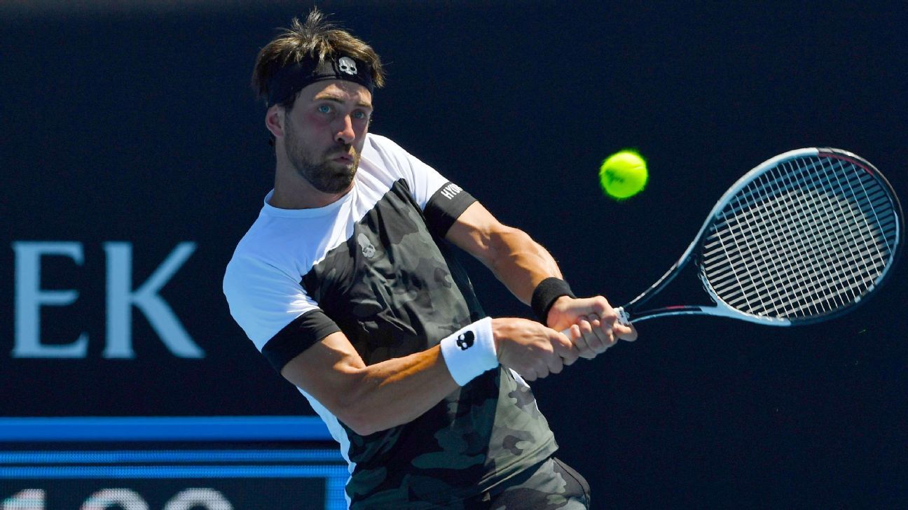 Nikoloz Basilashvili defeats Leonardo Mayer to claim first ATP final in Hamburg