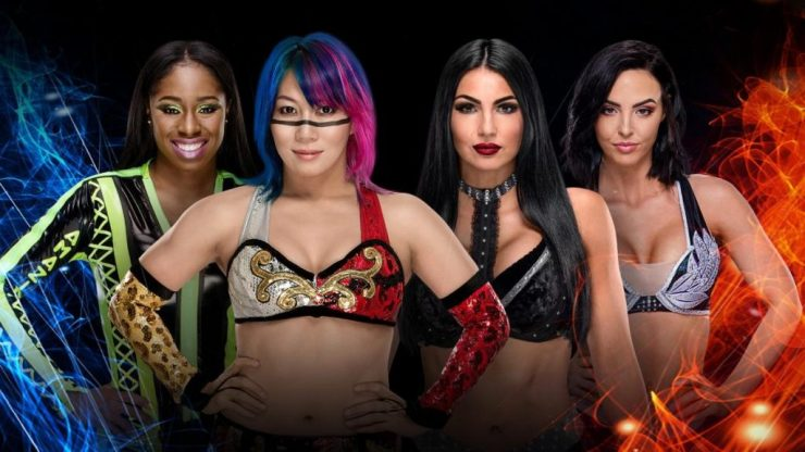 ASUKA & NAOMI vs THE ICONIC