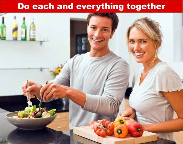 Do each and everything together