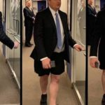 """Philippe Reines, a former senior adviser to Hillary Clinton, stripped down to his underwear and went on an """"unhinged"""" rampage at Fox News on Tuesday night, abusing a Trump campaign advisor while """"screaming like a maniac"""", according to shocked onlookers who captured cellphone footage of the disturbing incident."""