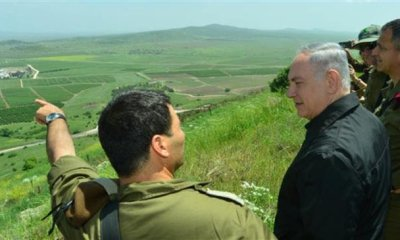 Israel's Sovereignty Over The Golan Heights Is Now Permanent Says Netanyahu