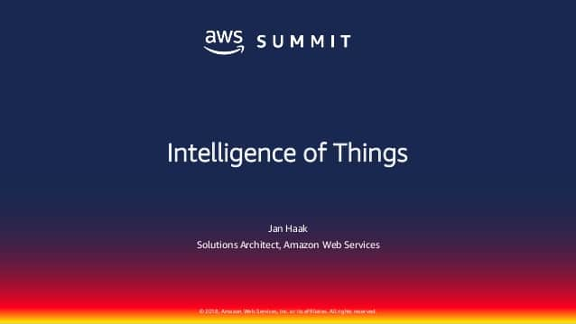 Amazon increases some of the IoT tools to the AWS