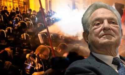Hungary says George Soros is behind violent protests in the country